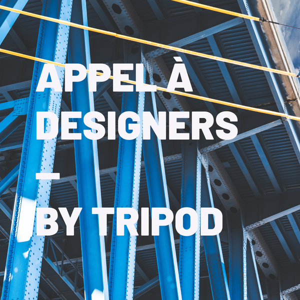 APPEL À CANDIDATURES — Design in the public space