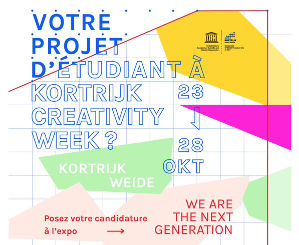 Open call pour étudiants design, architecture, multimédia