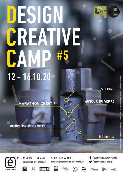 Appel à candidature : Design Creative Camp #5