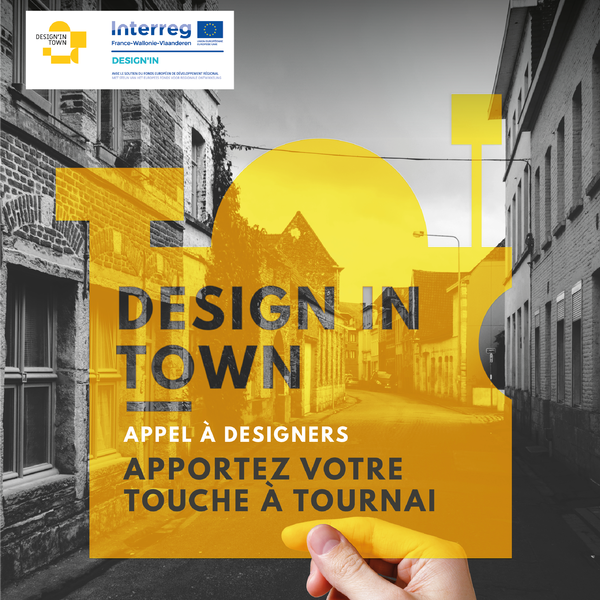 DESIGN IN TOWN #TOURNAI