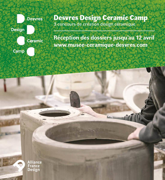 Appel à candidature : Desvres Design Ceramic Camp