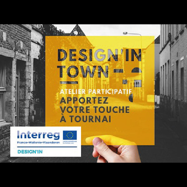 DESIGN'IN TOWN #Tournai