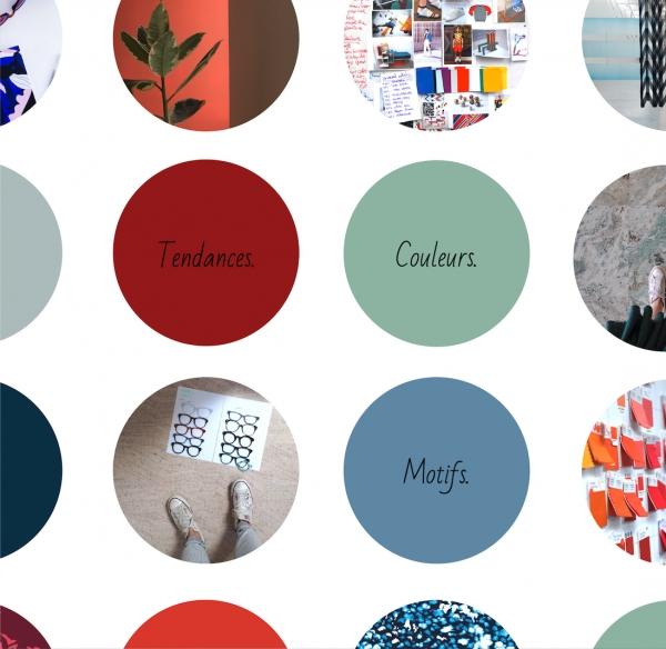 Elaboration de tendances, de coloramas - choix et création de surfaces