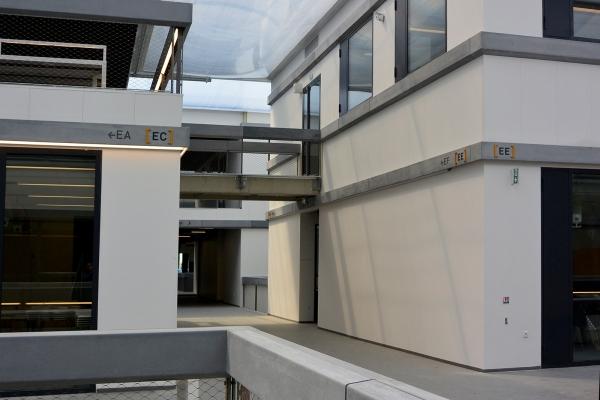 Signalétique permanente de l'École CentraleSupélec, Paris Saclay