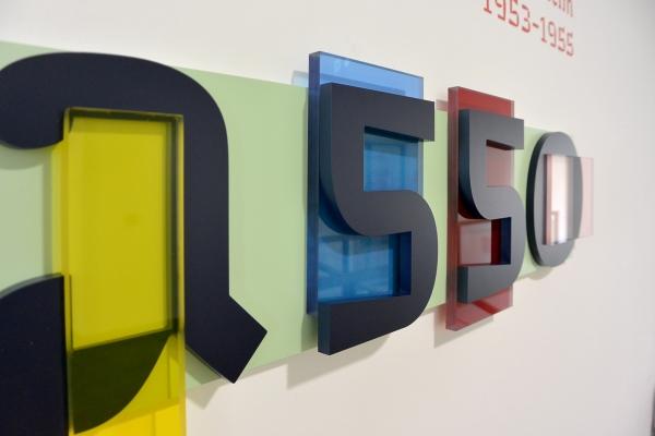 """Design graphique de l'exposition temporaire """"Picasso-Perpignan"""", Musée d'art de Perpignan, Hyacinthe Rigaud"""