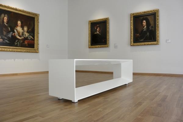 Design du mobilier d'accueil et de repos du Musée d'art de Perpignan, Hyacinthe Rigaud