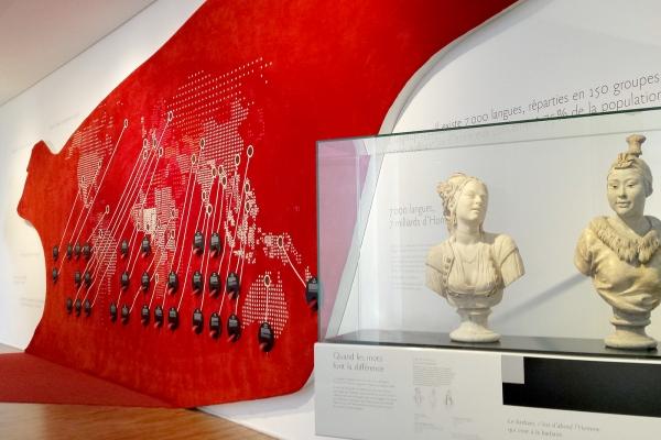 Design graphique de l'exposition permanente du Musée de l'Homme, Paris