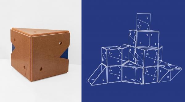 MUBE : mobilier modulable imaginé pour s'adapter à différents usages d'un lieu.