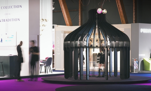 Scénographie — Pavillon Olfactif Nomade Germauld - Biennale Intérieur Courtrai