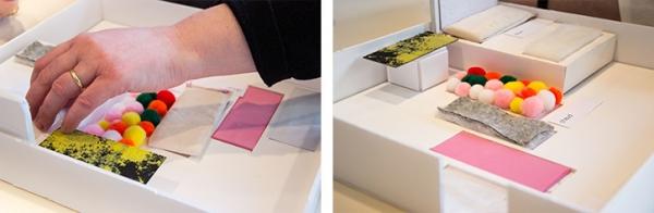 Inclusive design - Collection textile - Malvoyants