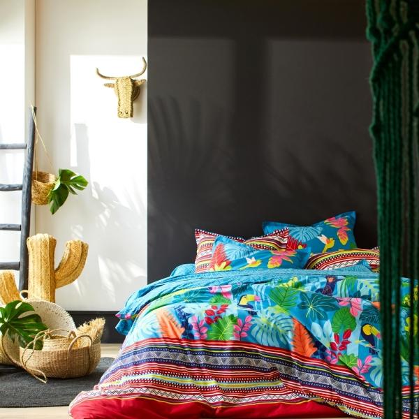 Linge de lit Blanche Porte