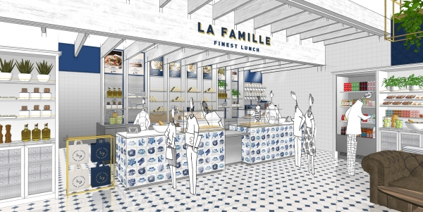 La Famille - Fast [GOOD] food - Concept global - 2019