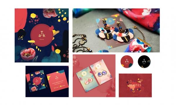 Conception de la  nouvelle image de marque ATK, fidèle aux valeurs de la marque. Déclinaison des supports & packagings aux couleurs de la marque colorée.