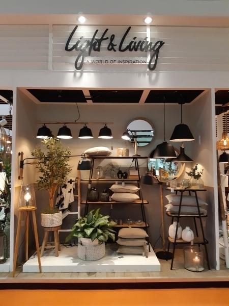 LIGHT & LIVING x DARROW - Design mobilier / luminaires (Maison et Objet 2019, corner DARROW)
