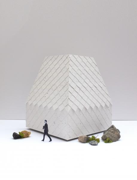 Pavillon circulaire - Tuiles de plastique