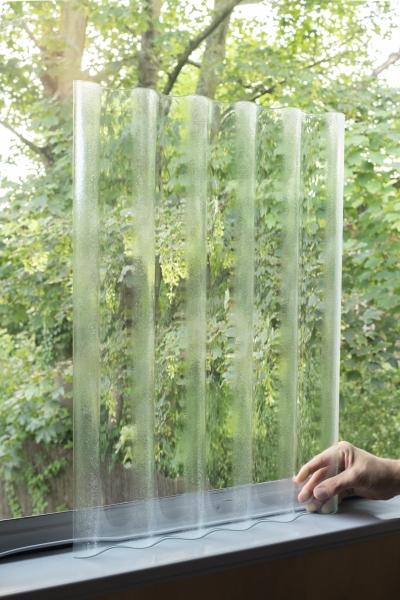 verre ondulé thermoformé