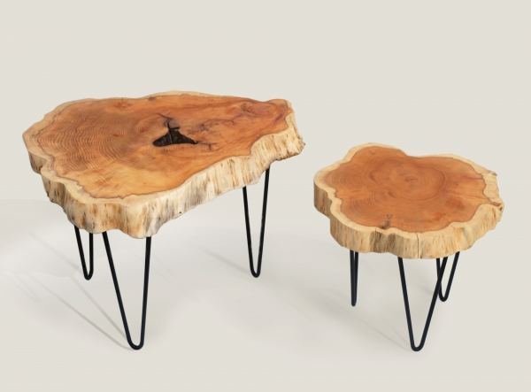 Tables basses gigognes 30 et 40 cm