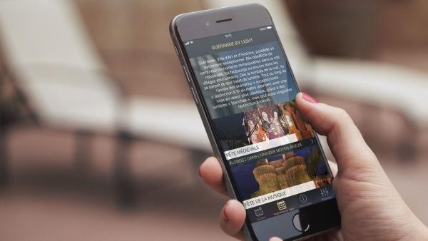 Design d'une application pour le tourisme Pour la ville de Guérande