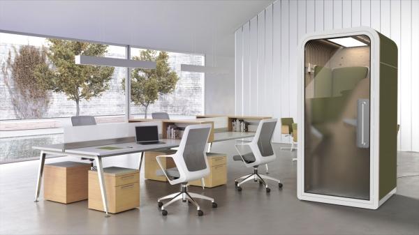 Design d'un Phonebooth pour la société Work with island