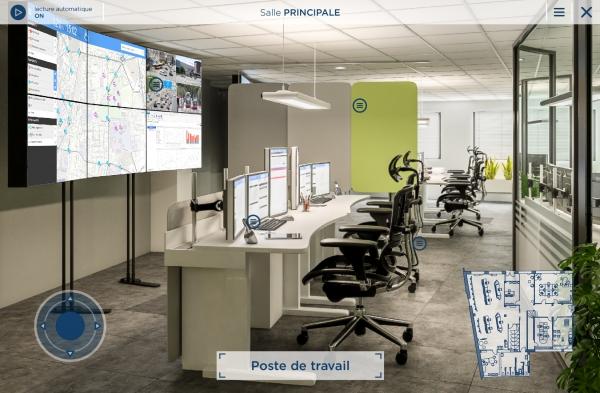 Expérience de visite en réalité virtuelle pour la ville de Dijon