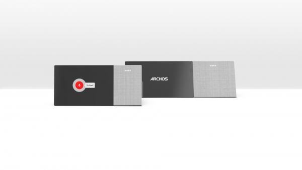 Design du home assistant Hello pour la société Archos