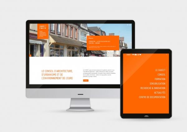 UX et UI du site internet du CAUE27