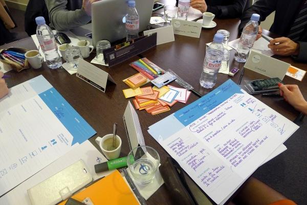 Support sur le projet de design experientiel pour la région Finistère: observation terrain, design du template des persona, des cartes de relance, des cartes d'empathie, de la cartographie des acteurs; animation des ateliers.