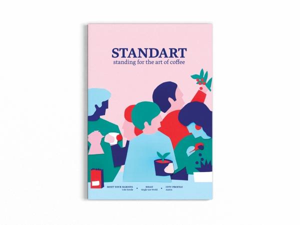 Illustration pour la couverture de Standart magazine
