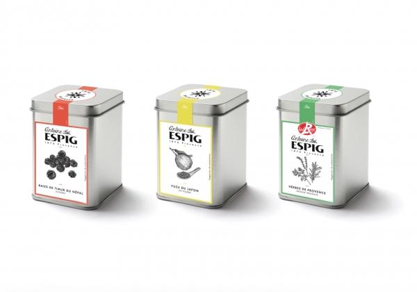 Création de la gamme packaging Antoine Espig à destination des professionnels de la restauration