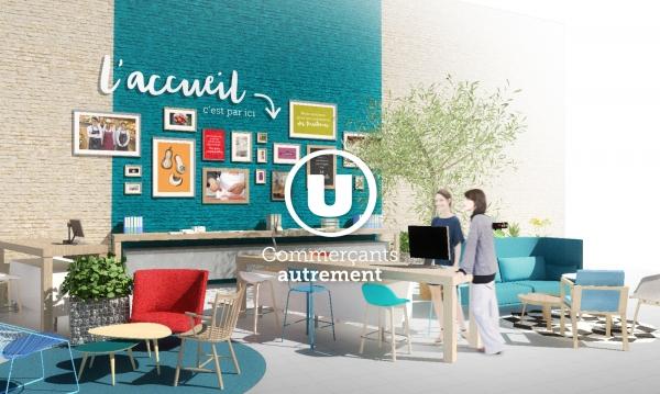 SYSTEME U - Aménagement de l'espace accueil et services