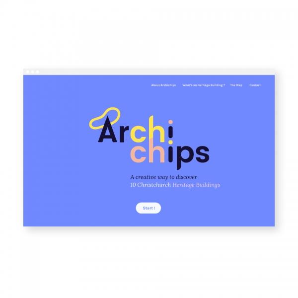 Archichips - Initiation à l'architecture  / Branding + Webdesign + Dev