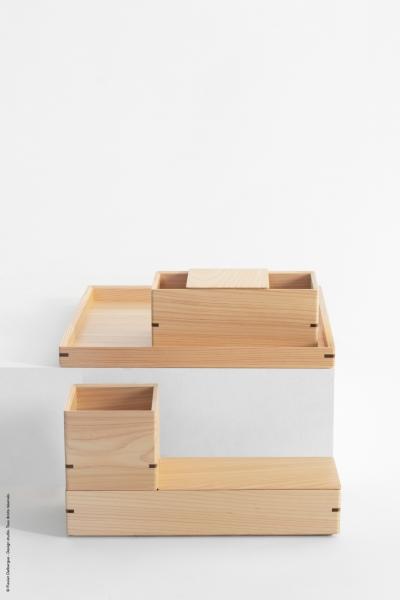 Hako collection - Japan wood design award 2019 - Fabriqué par Toyooka Craft