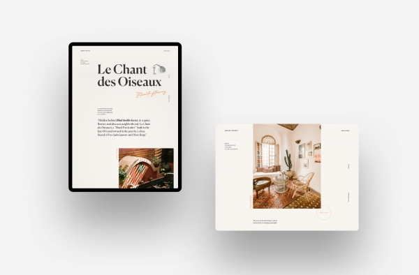 Webdesign Riad Jardin Secret