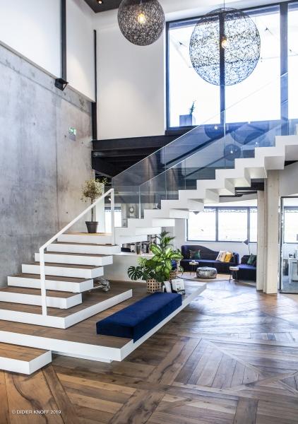 Architecture intérieure, Space planner, pour un siège social sur Lille.