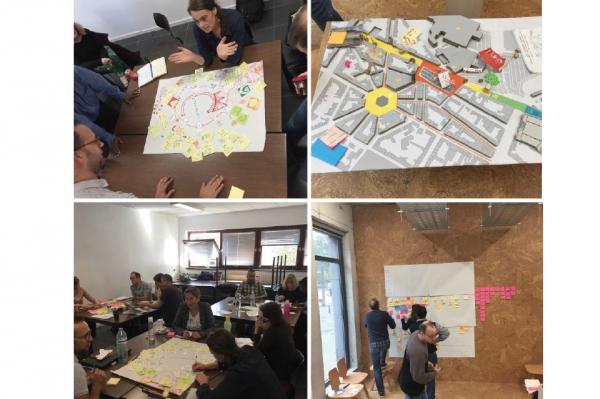 Formation design thinking & services - Design Innovation / ville de Charleroi