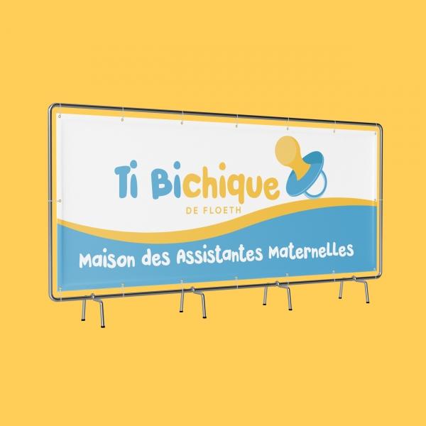 Enseigne publicitaire pour Maison d'Assistantes Maternelles