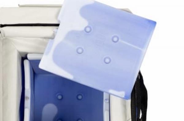 Conception d'une gamme de packaging pour le transport réfrigéré.