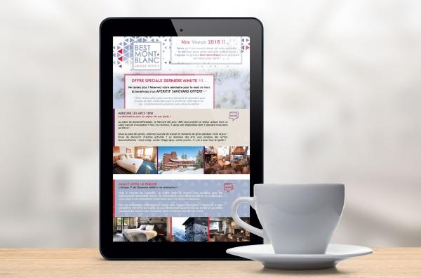 Création d'une campagne de newsletters.