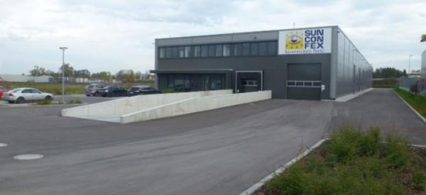 aménagement d'un site industriel