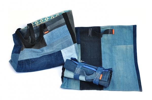 les bobinettes - Design d'accessoires en upcycling de jeans usagés.
