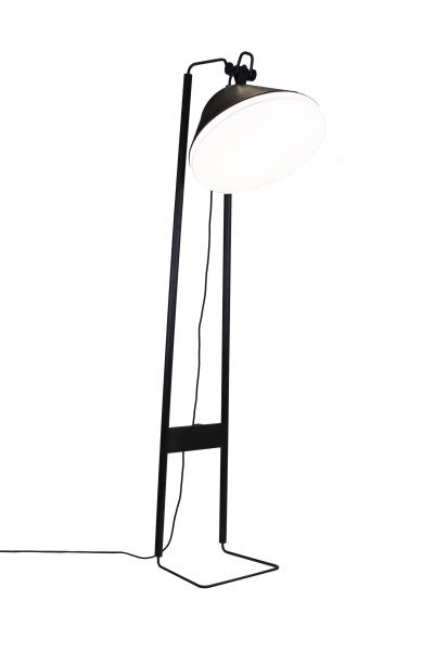 Lampadaire numéroté / édition Chêne Brûlé, cuir, peau d'agneau, feutrine, métal . Structure réalisé par notre artisan Ludovic Evrard à Hallivillers. Utilisant des produits locaux et/ou made in France.