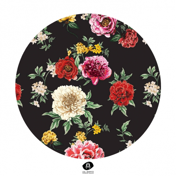 Christelle Cellier, création d'un imprimé floral digital pour une marque de prêt-à-porter haut de gamme
