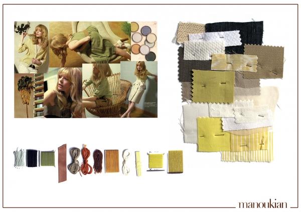 2007-2008 • Styliste matières / couleurs / imprimés pour BCBG Max Azria - Manoukian
