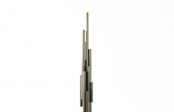 Les piliers de l'univers - Collection de sculptures lumineuses d'ambiance intérieure et extérieure à poser sur une table et au sol.